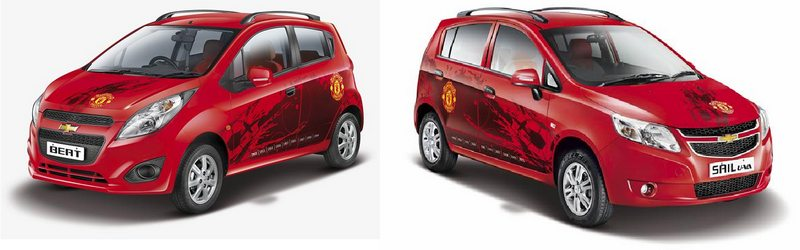 Chevrolet Sail U-VA & Beat Manchester United edition