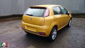 Fiat Punto facelift gets new set of tail lamps, revised rear bumper with chrome inserts and a new alloy wheel design