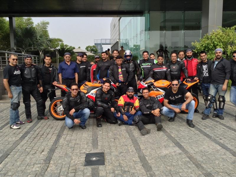 Honda hosts big bike weekend ride for 'GODS'