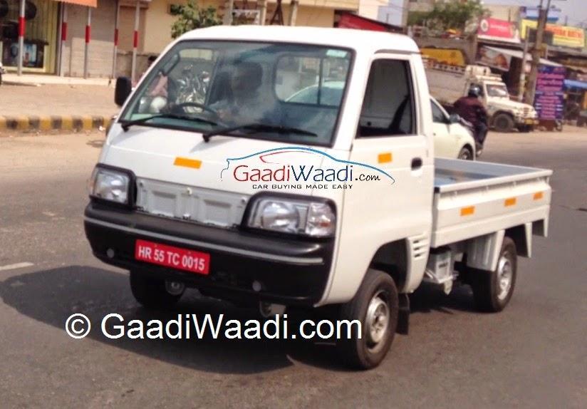 Maruti Suzuki Y9T LCV spotted testing