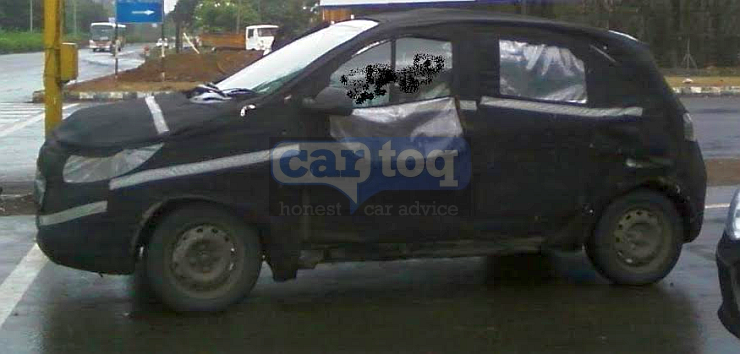 2015 Tata Motors Kite hatchback spotted testing