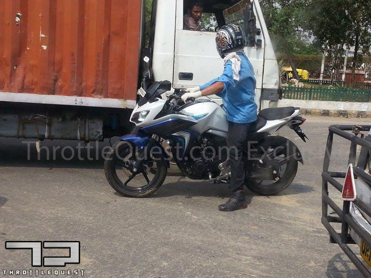 Yamaha Fazer facelift spotted testing
