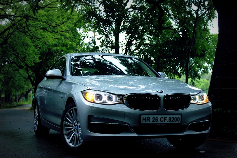 The BMW 3 Series GT is slightly more imposing from the front end, compared to the regular 3 Series