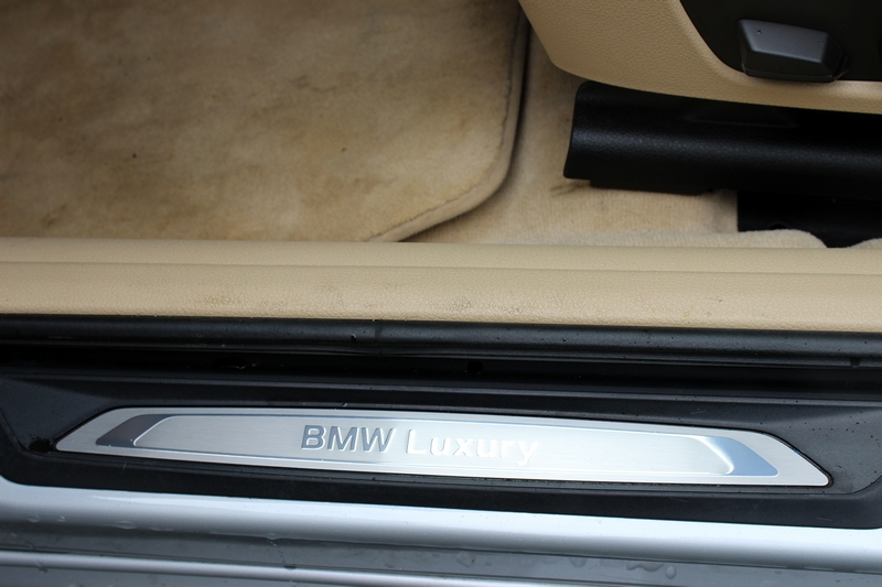 'BMW Luxury' scuff plates