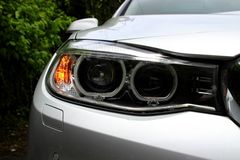 Headlamp remains more or less the same, just the point where it meets the grille is slightly wider