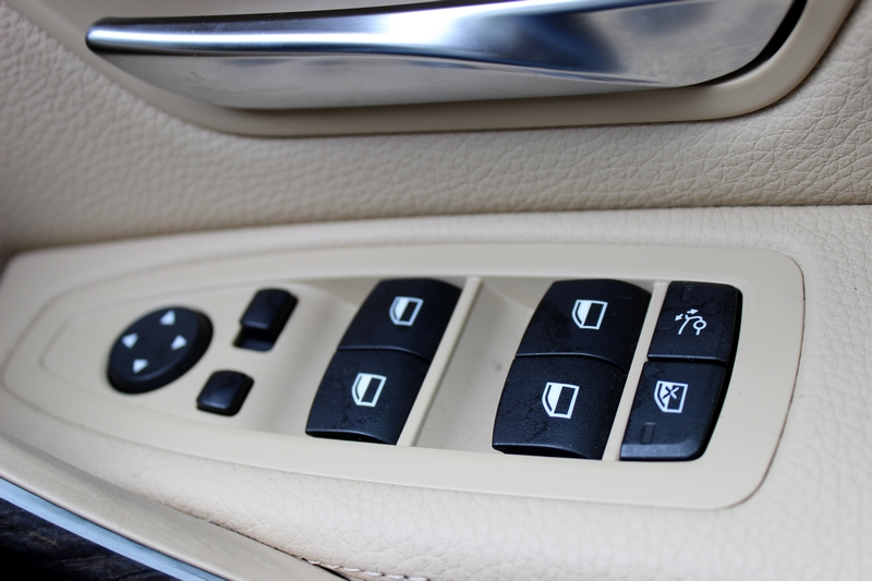 Driver side door controls