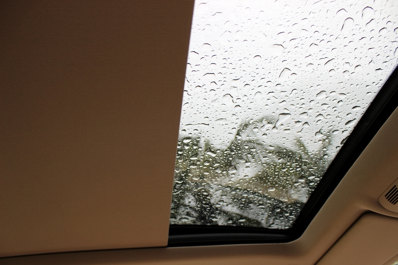 Sun-roof sliding shade can be stopped where you want it to