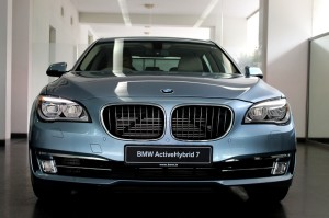BMW ActiveHybrid 7 front view