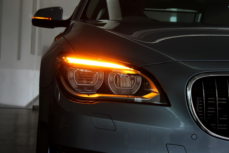 Adaptive LED headlamps