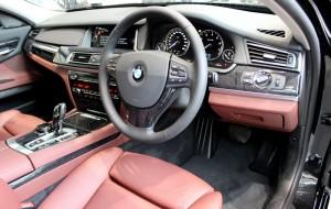 BMW ActiveHybrid 7 Dakota Barrique red & black interiors