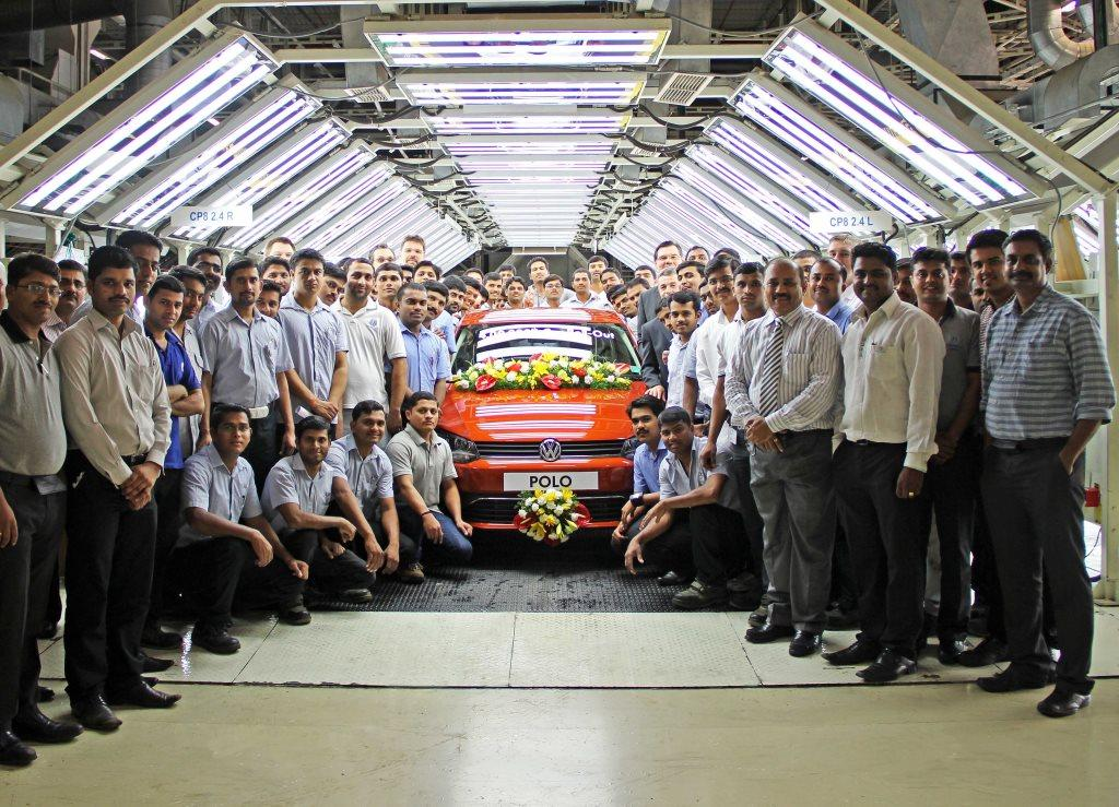 4 lakh cars rolled out of Volkswagen's Pune plant