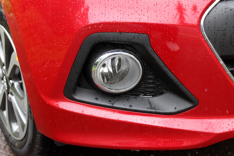 Fog lamps with a chrome surround