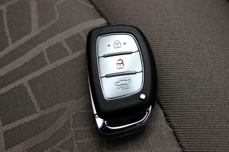 The smart key for keyless entry