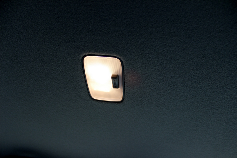 Rear cabin lamp