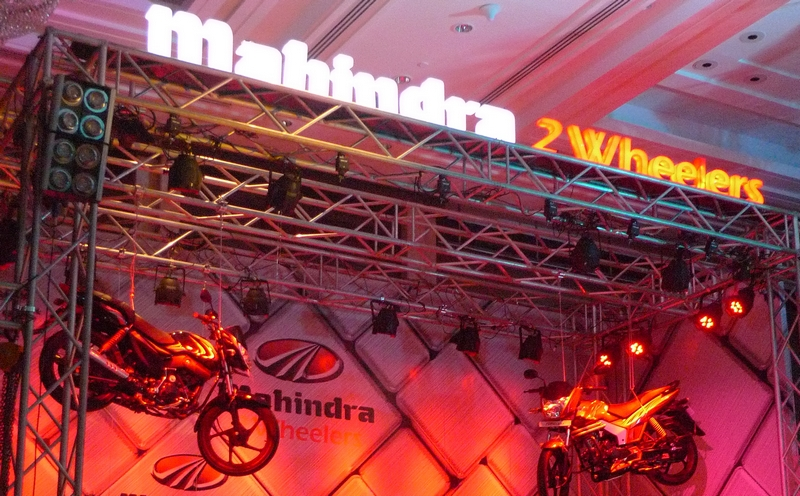 Four two-wheelers from Mahindra this year