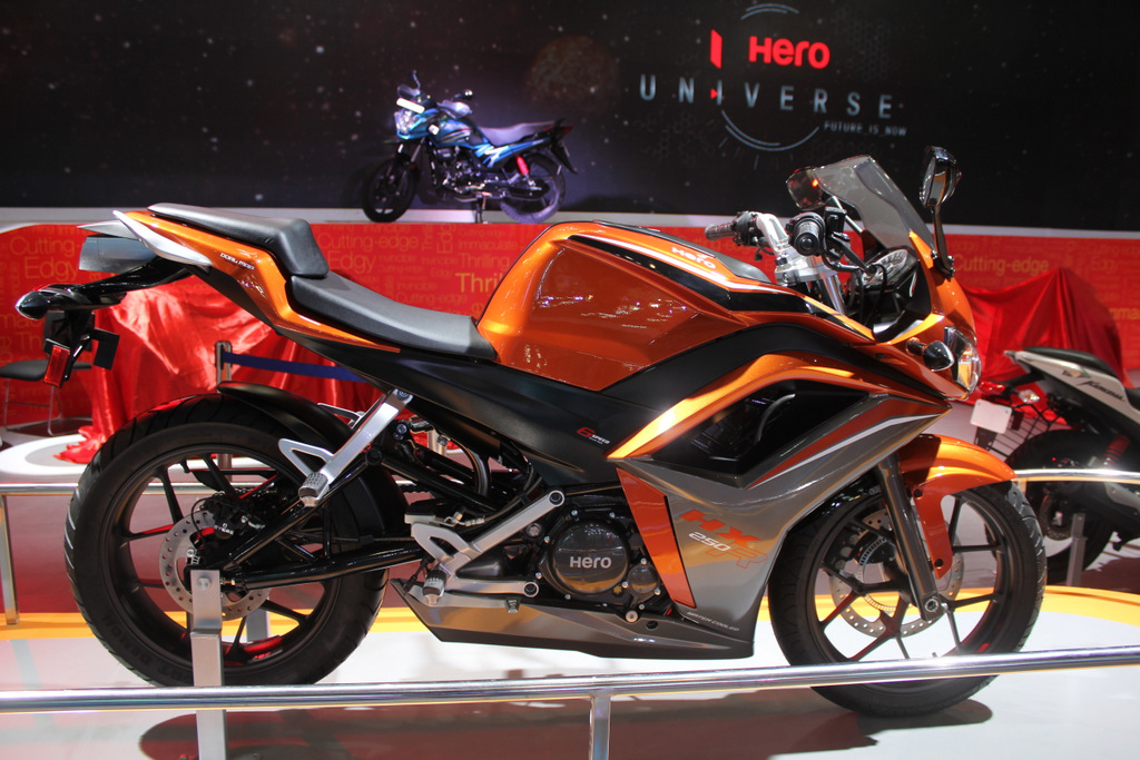 Hero HX250R coming in November