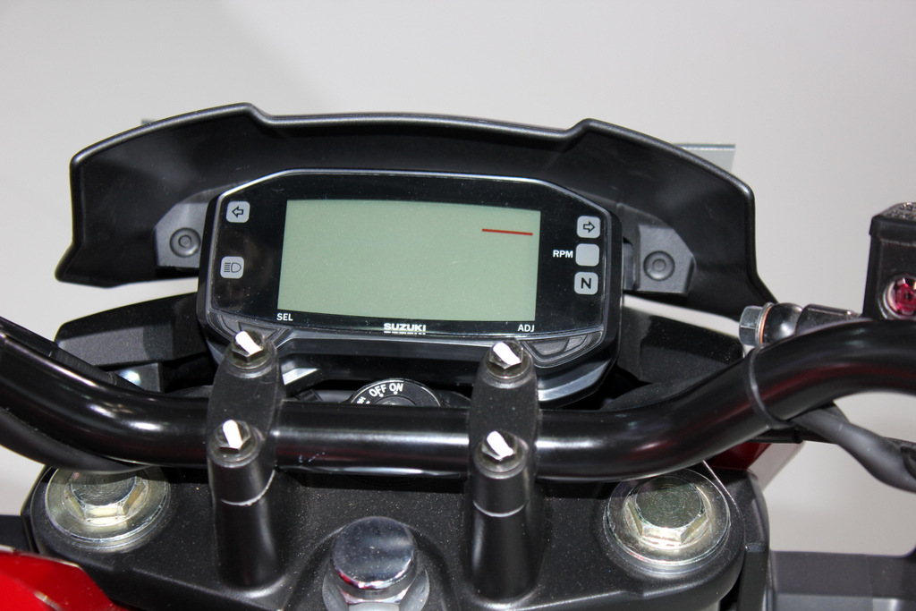Full digital speedo console