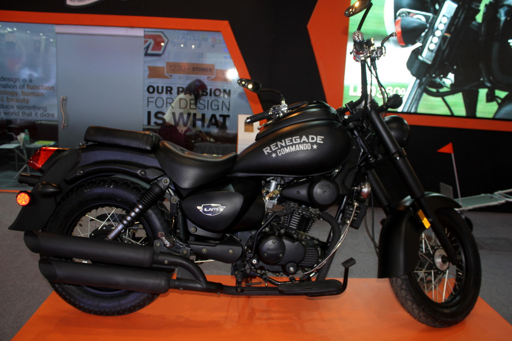 UM Motorcycles will launch Renegade Commando by November