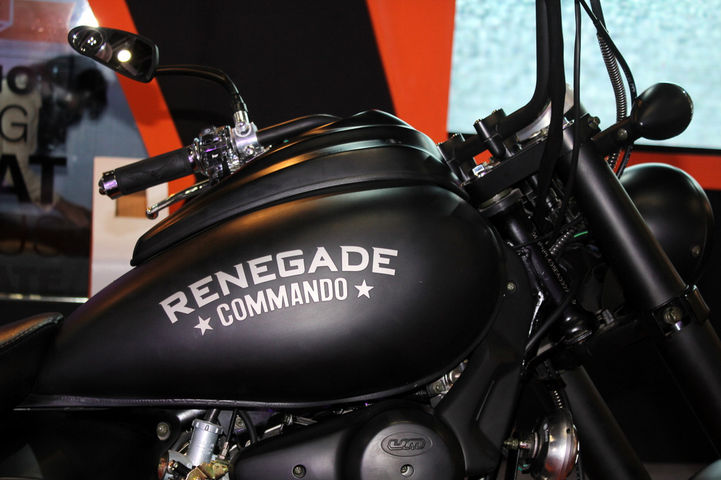 Renegade Commando big fuel tank