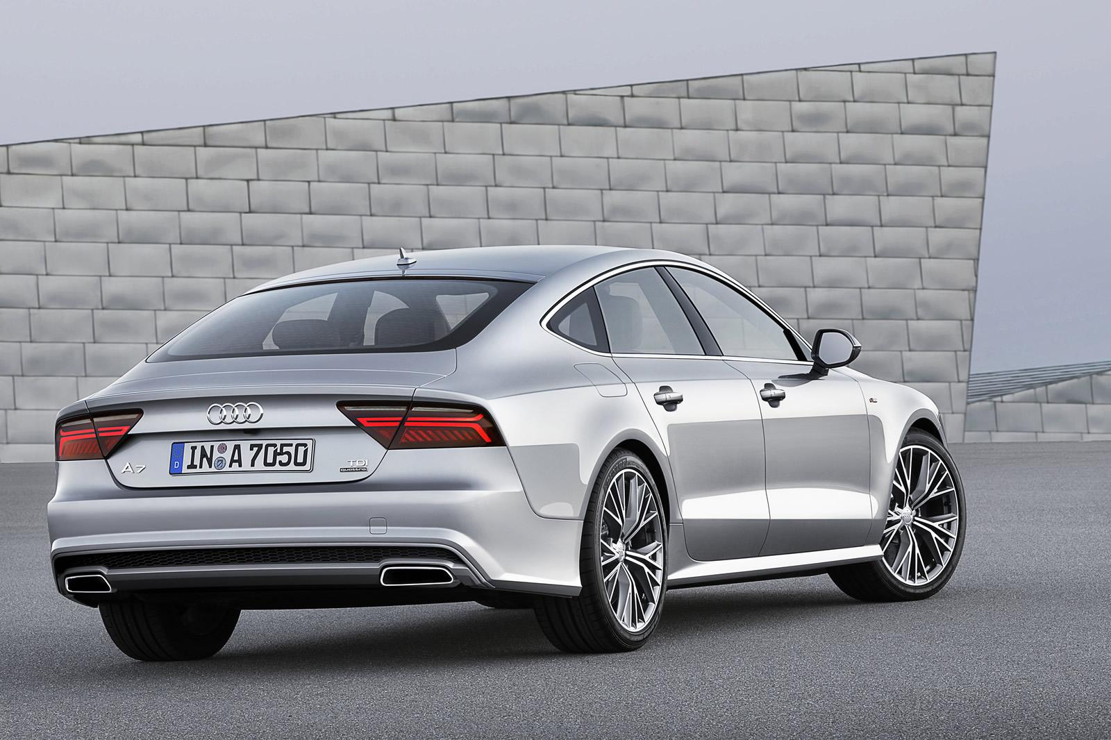 Image of the facelift A7 sportback