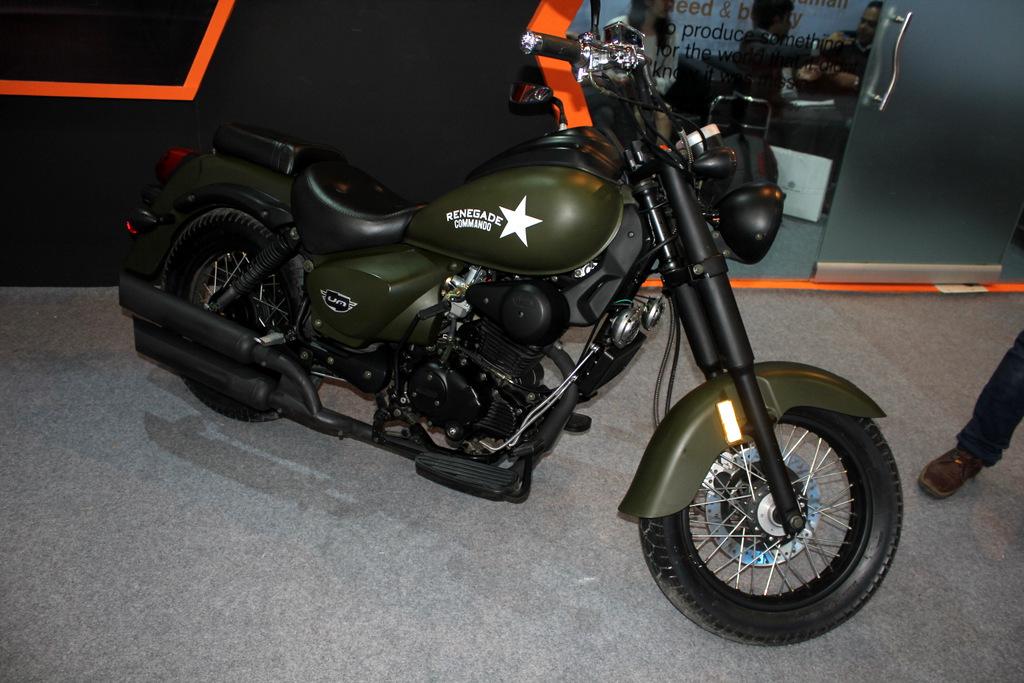 Renegade Commando in military green