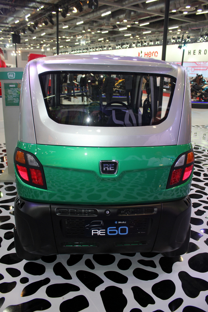 Bajaj RE60 rear view