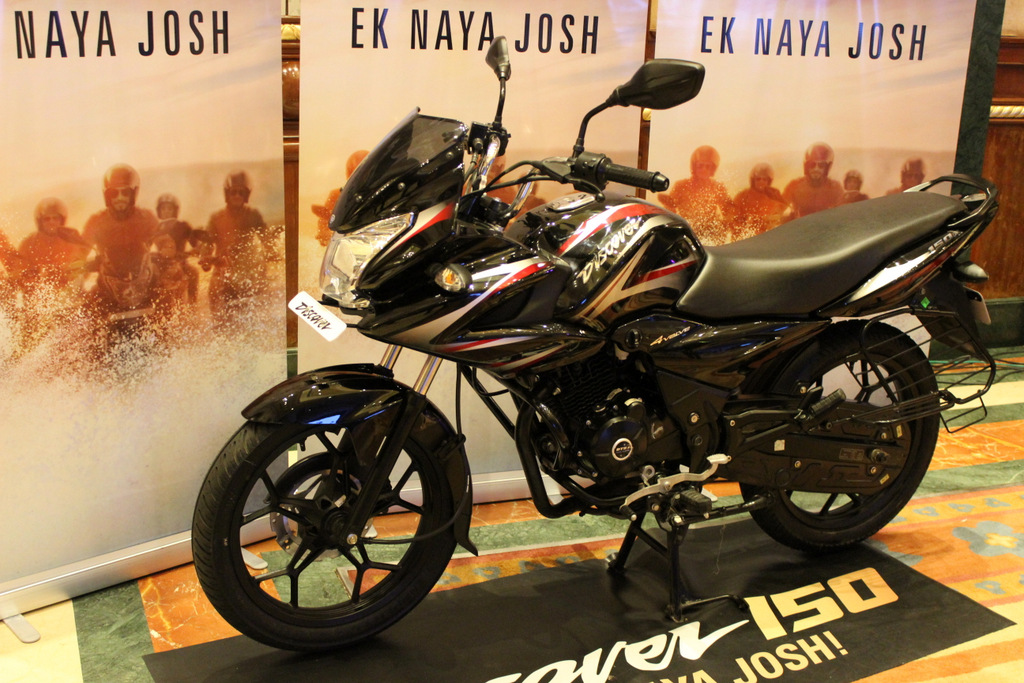 Bajaj launches Discover 150F and 150S