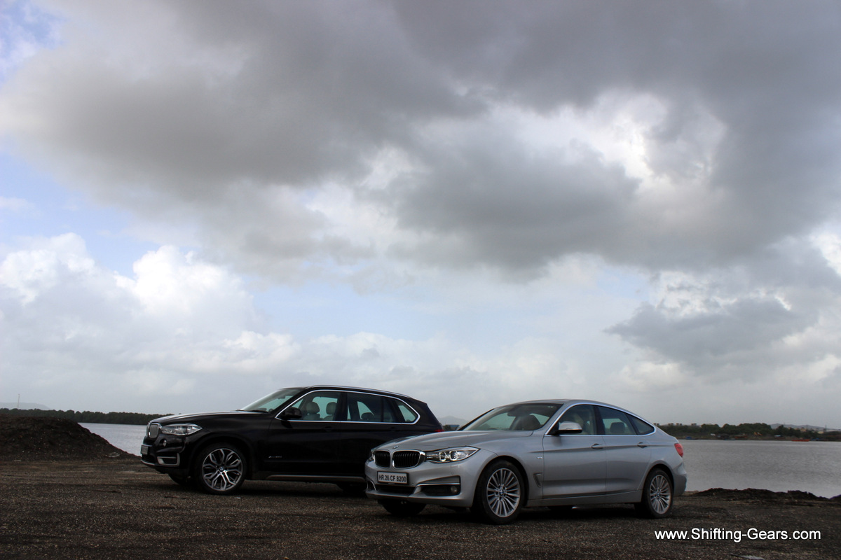 And then we met someone we reviewed last month, the BMW 3 Series GT