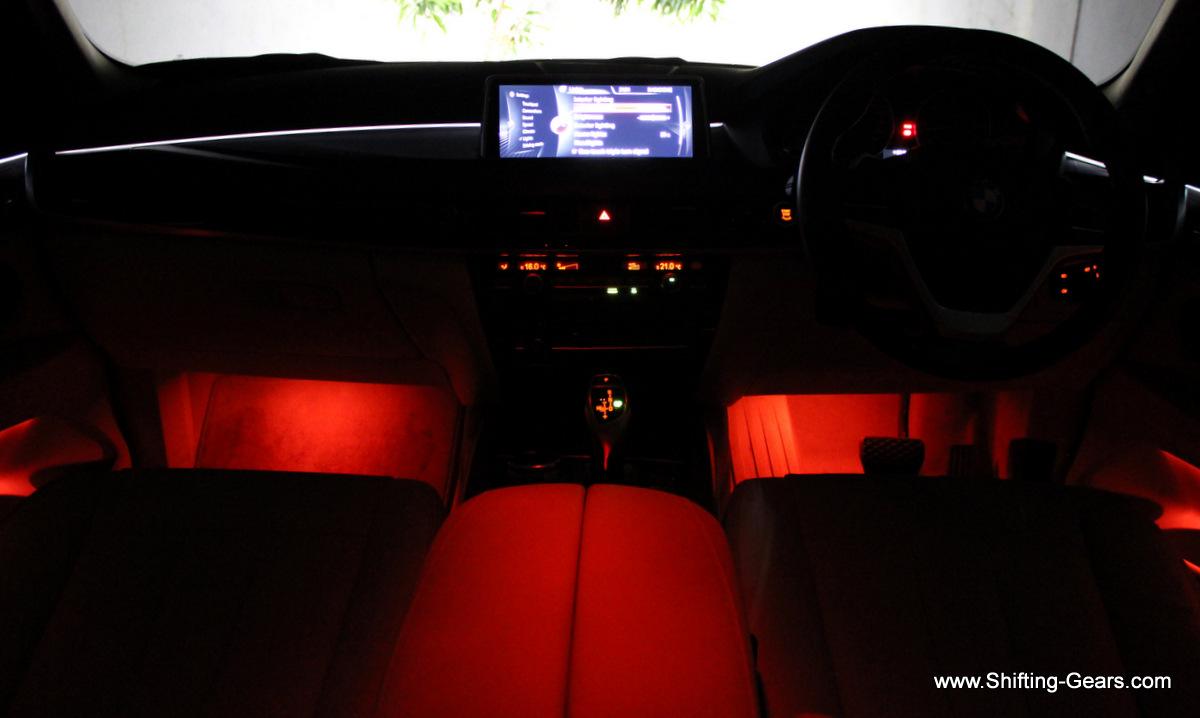 Interiors get ambient lighting