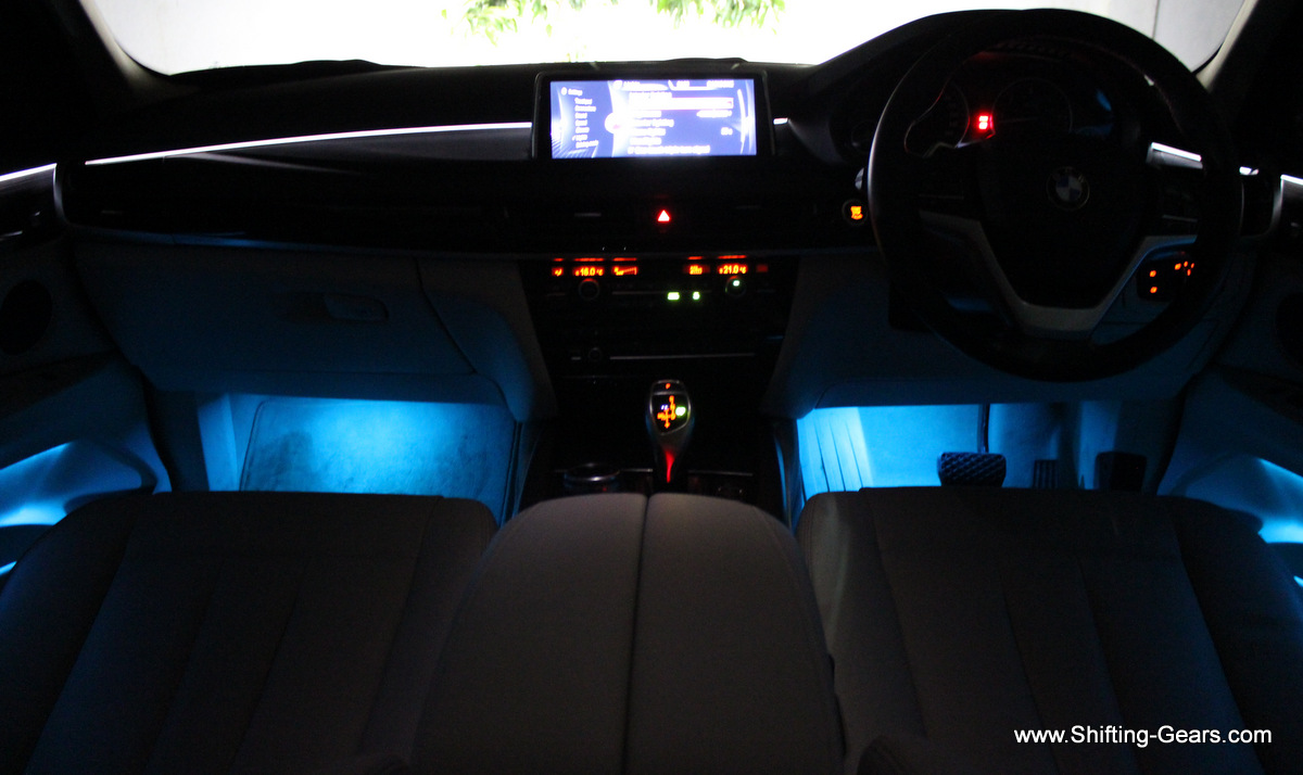 Also, ambient lights have three colours options, and multiple combinations