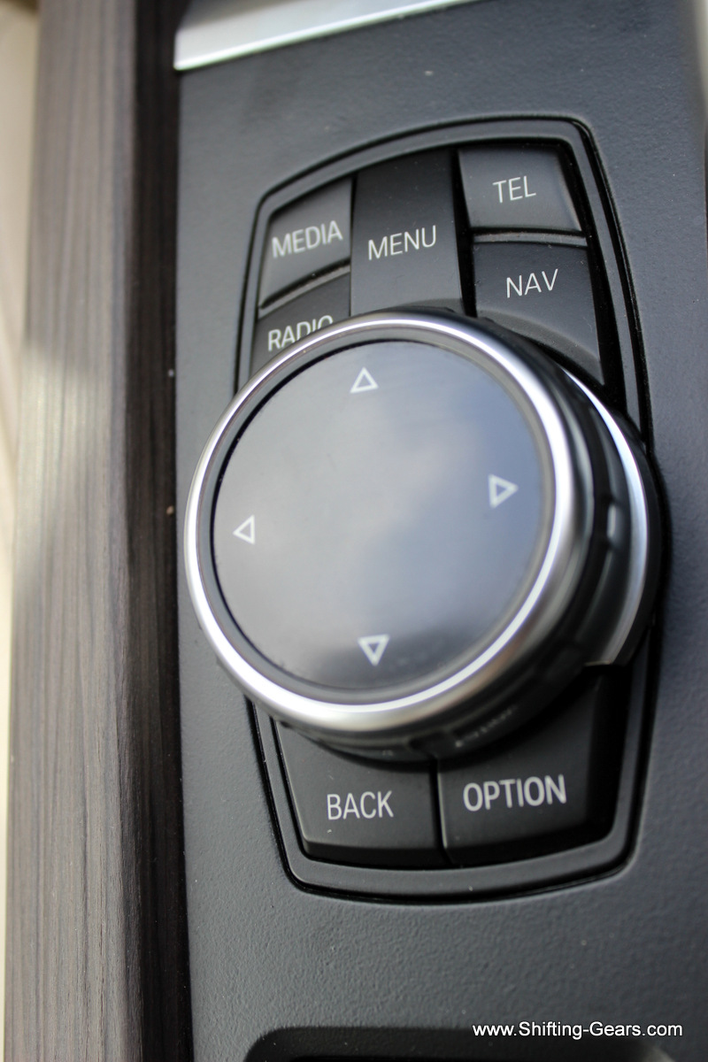 Close look at the iDrive controller