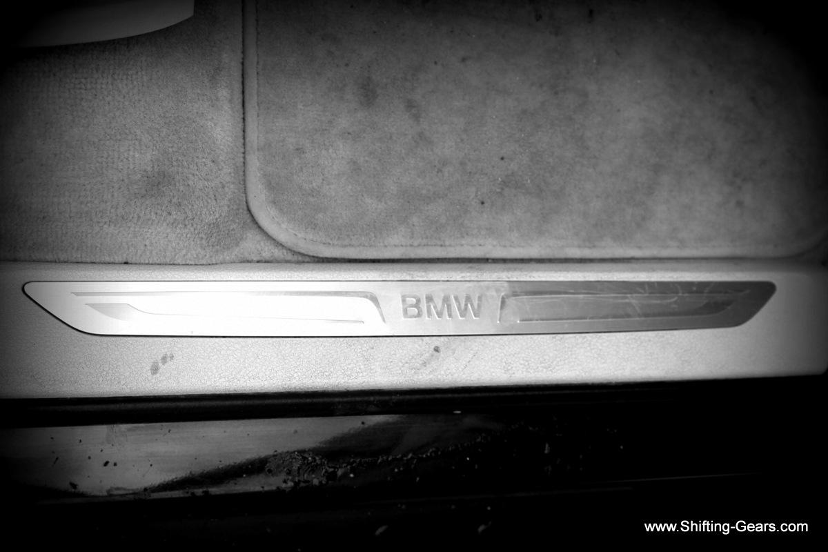 BMW scuff plates