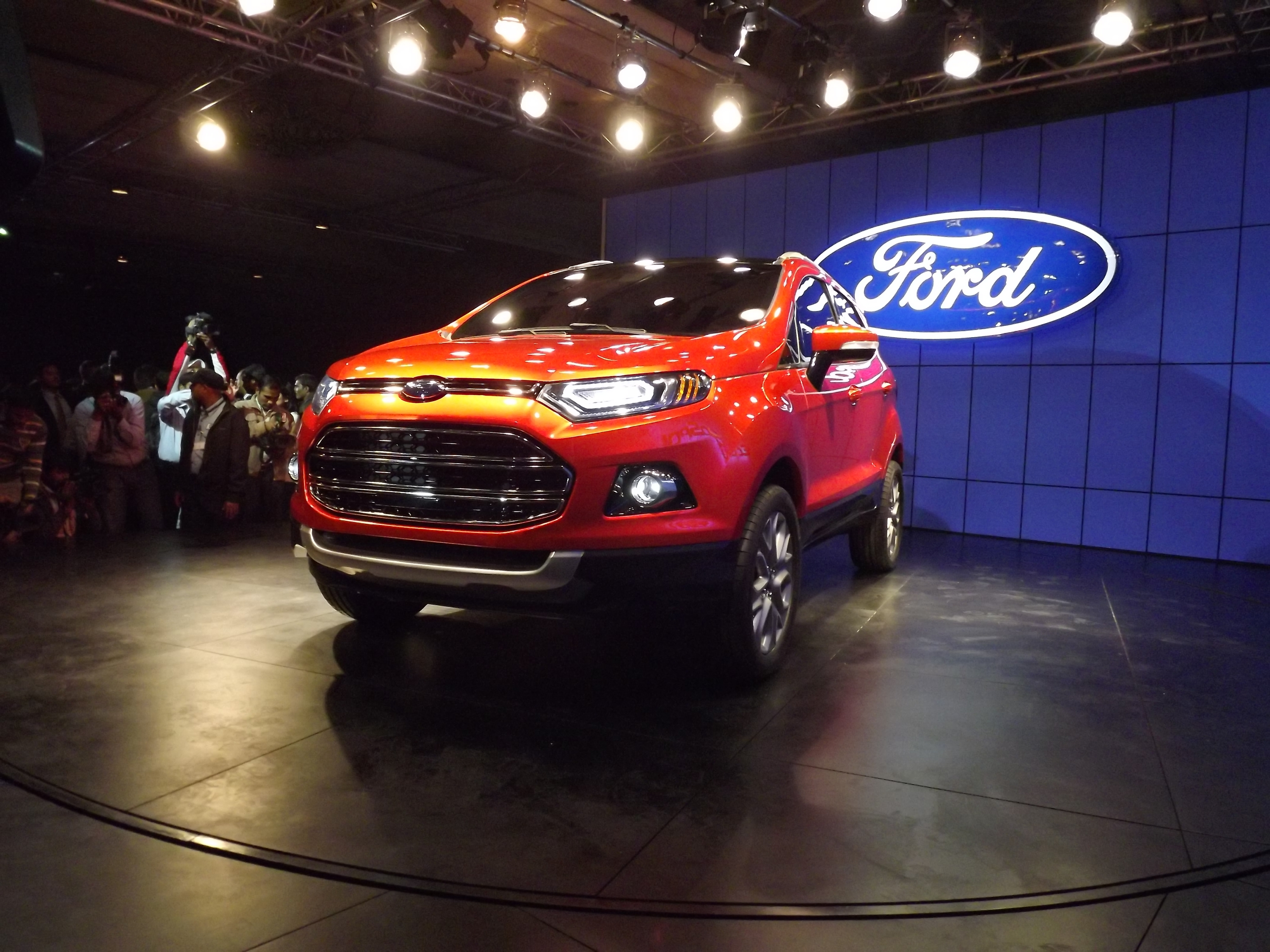Ford plans to reduce EcoSport waiting period