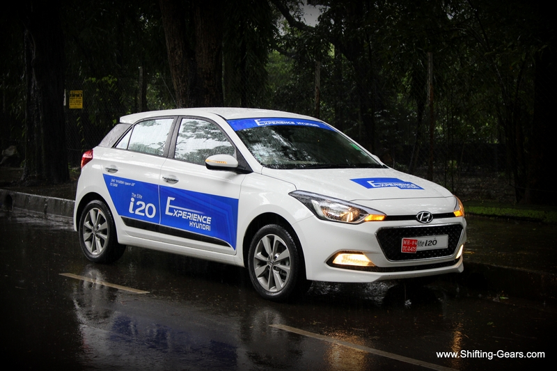 The Hyundai Elite i20 is more European to look at