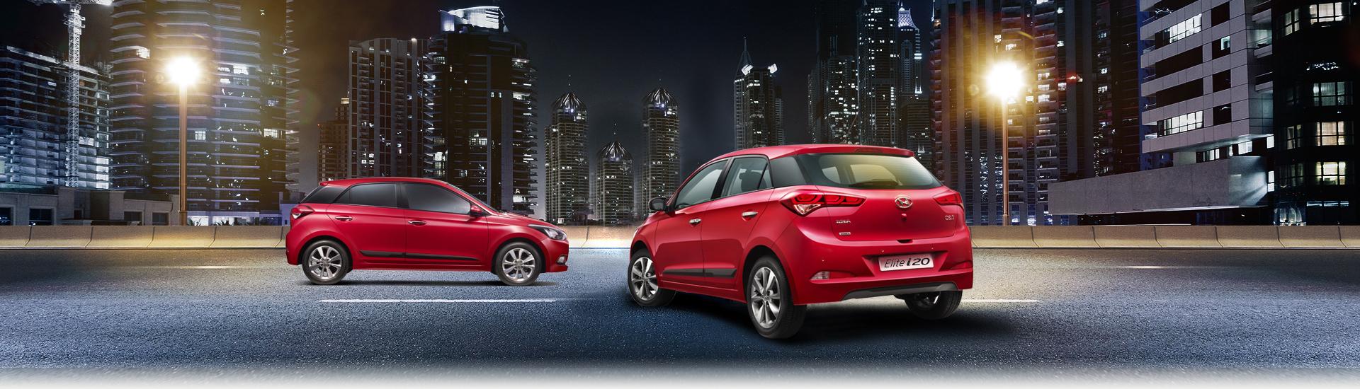 Hyundai Elite i20 exterior