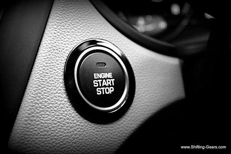 The segment favourite feature, engine start-stop button