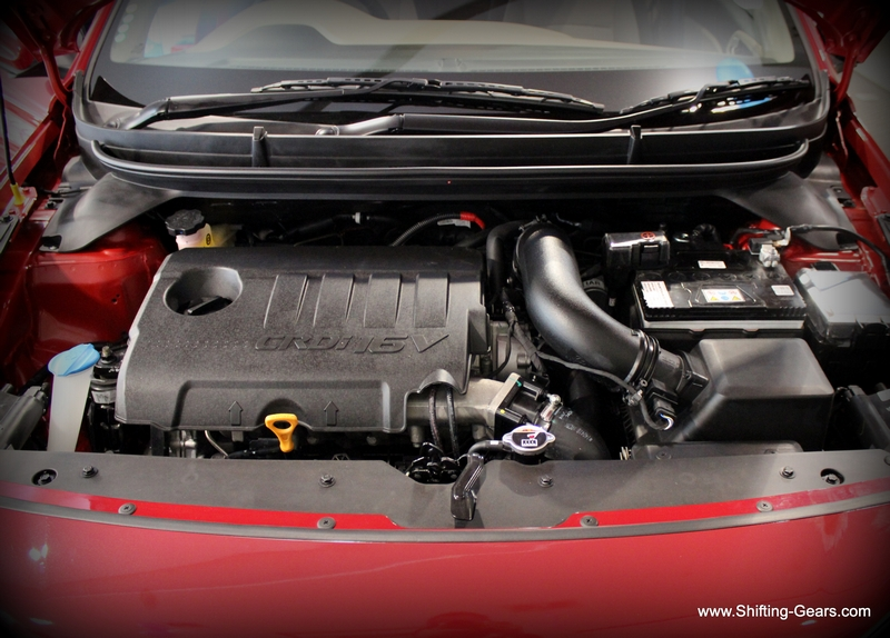 The 1.4 U2 CRDi motor
