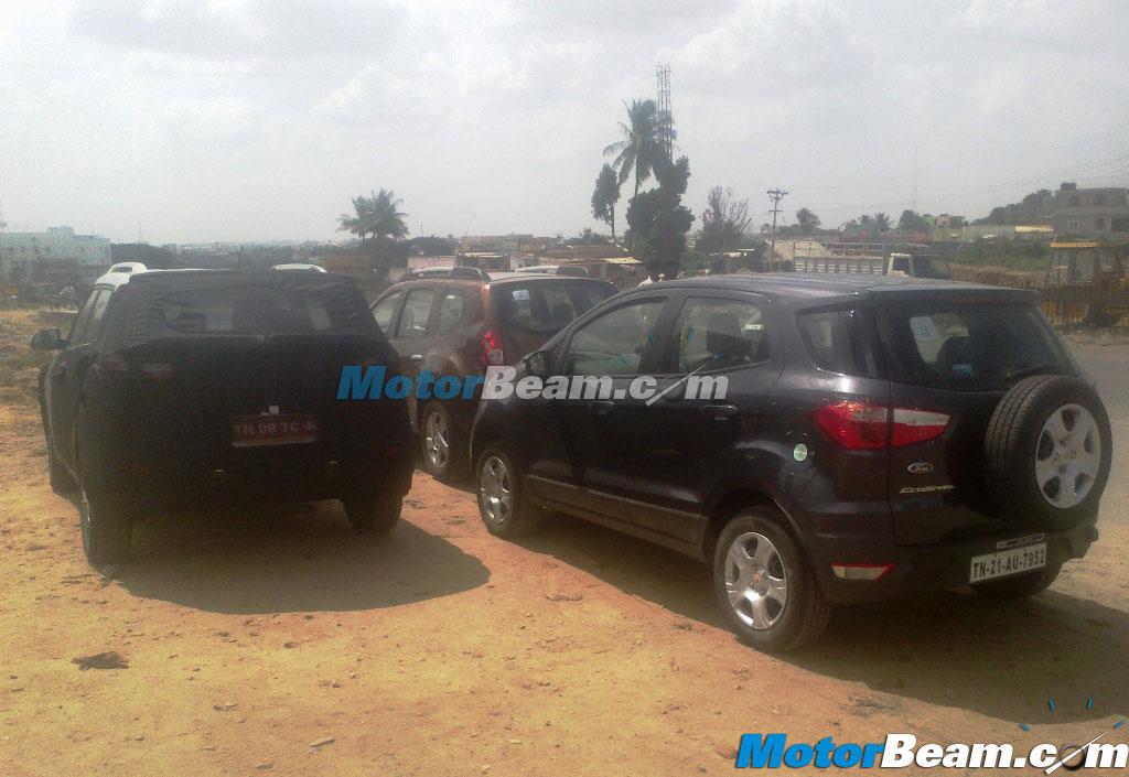 Hyundai ix25 compact SUV spotted testing