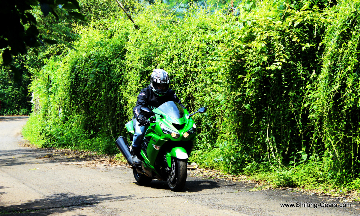The Kawasaki Ninja ZX-14R is also known as the ZZR1400 in European markets
