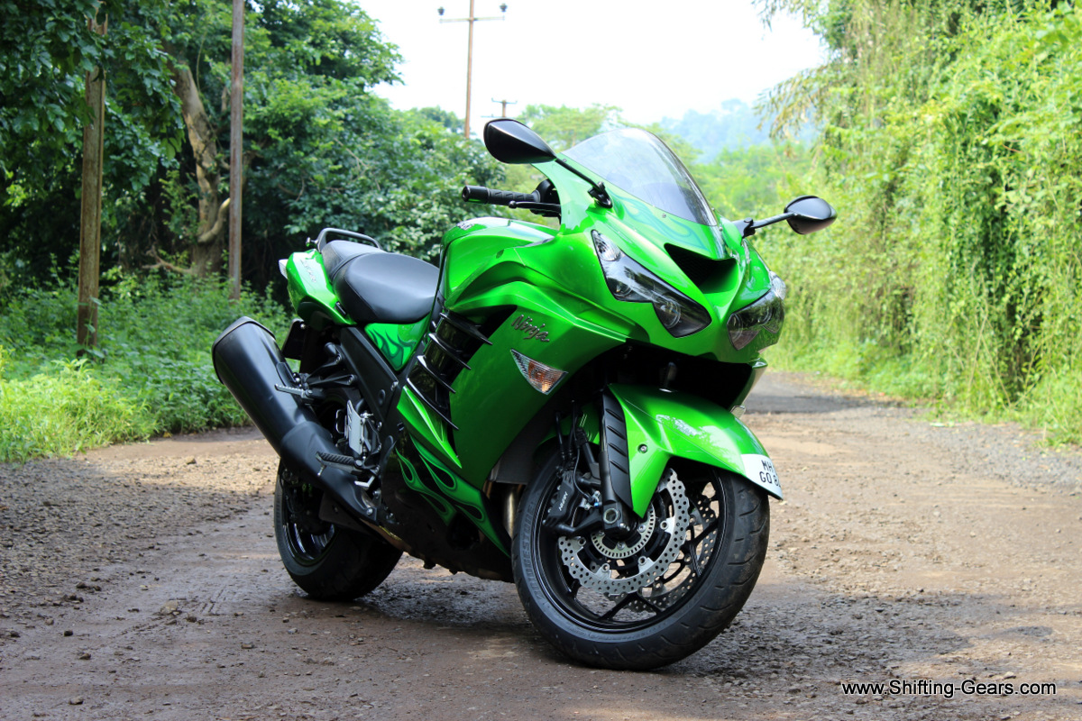 Green is synonymous of Kawasaki. It is the strongest accelerating production motorcycle.