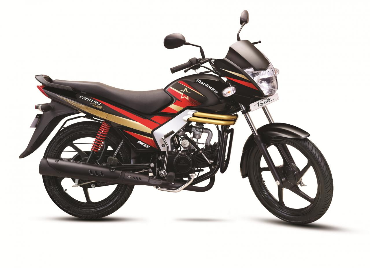 Mahindra Centuro Rockstar launched at Rs. 43,684
