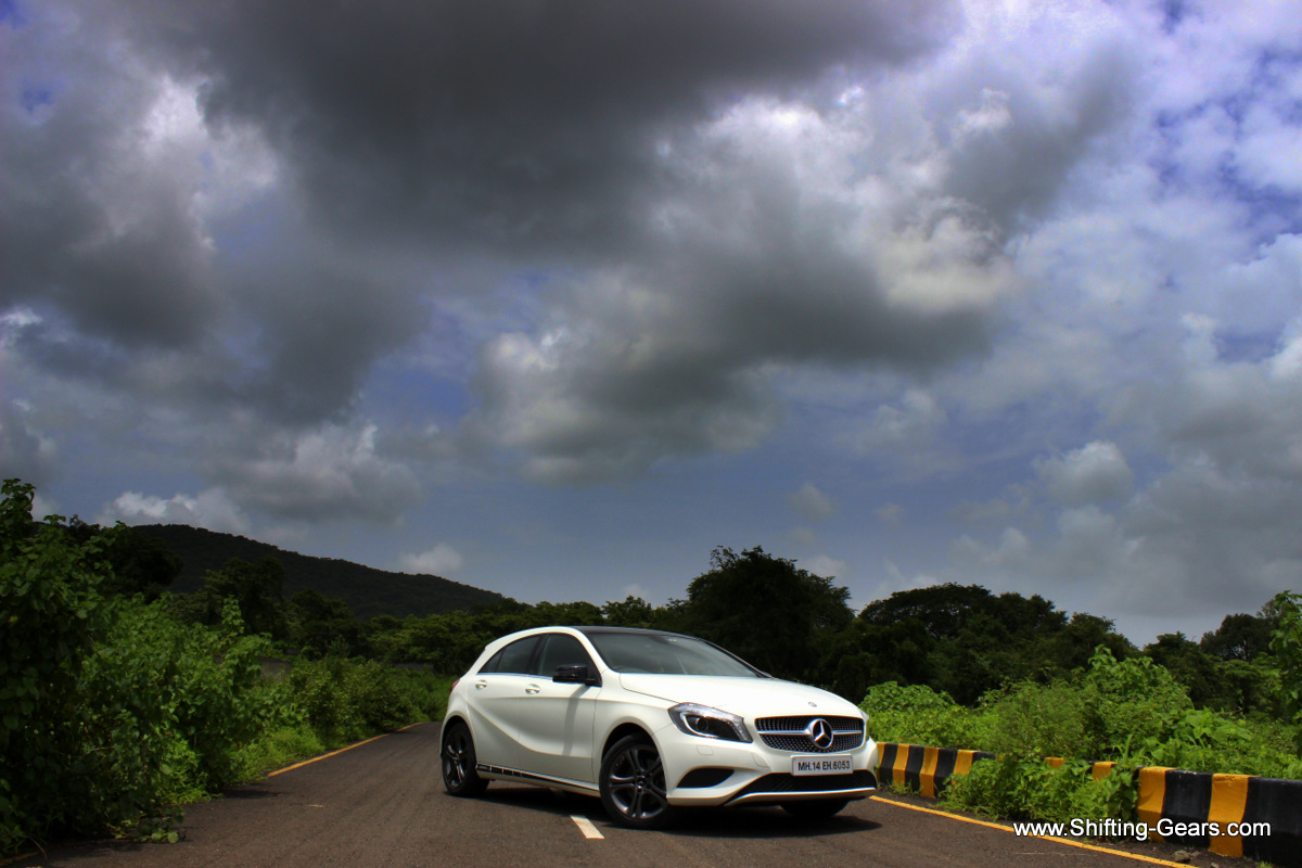 The A Class has been the most popular premium hatchback in the Indian market