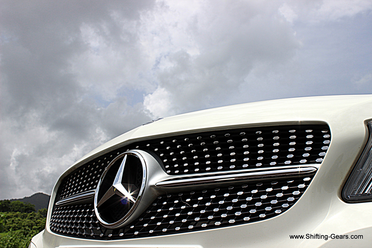 One of the most talked about feature on the A Class was this diamond grille with 302 metallic pieces