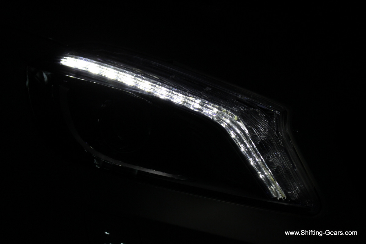 Headlamps have LED DRLs