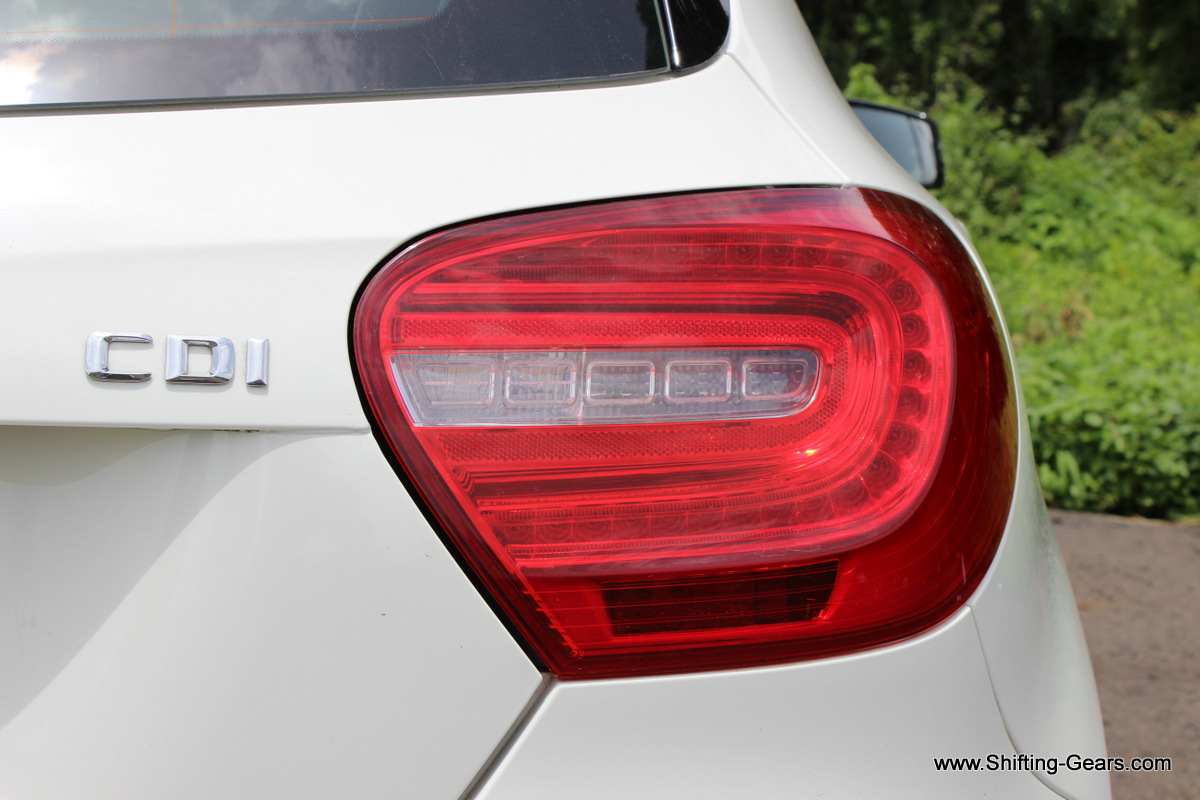 C shaped LED tail lamps