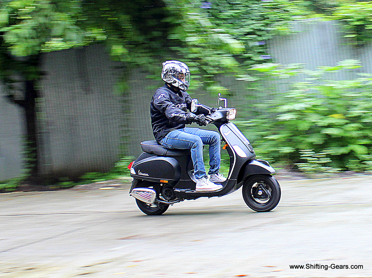 The Vespa S was launched in the month of March 2014 and was priced at Rs. 75,424 (ex-Delhi)