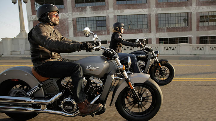 Wide handlebars and low seats are synonymous of cruisers