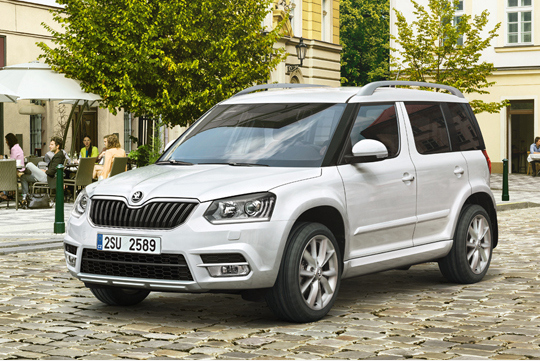 Skoda launching the Yeti facelift on September 10
