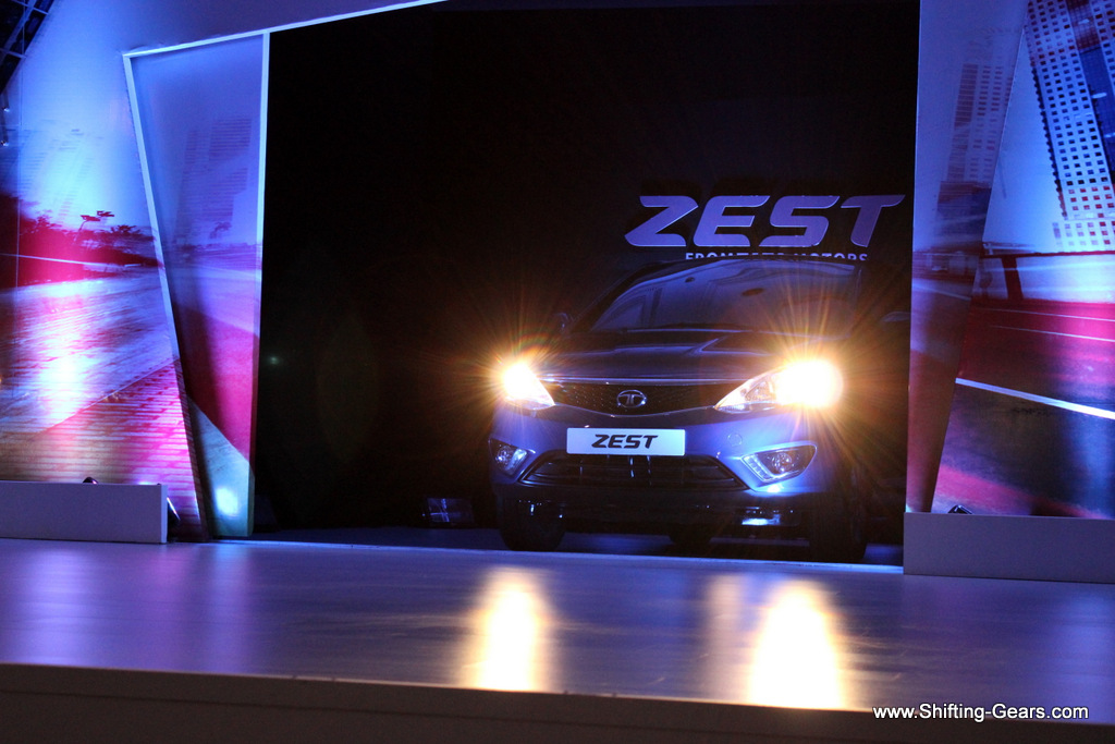 The Tata Zest debut