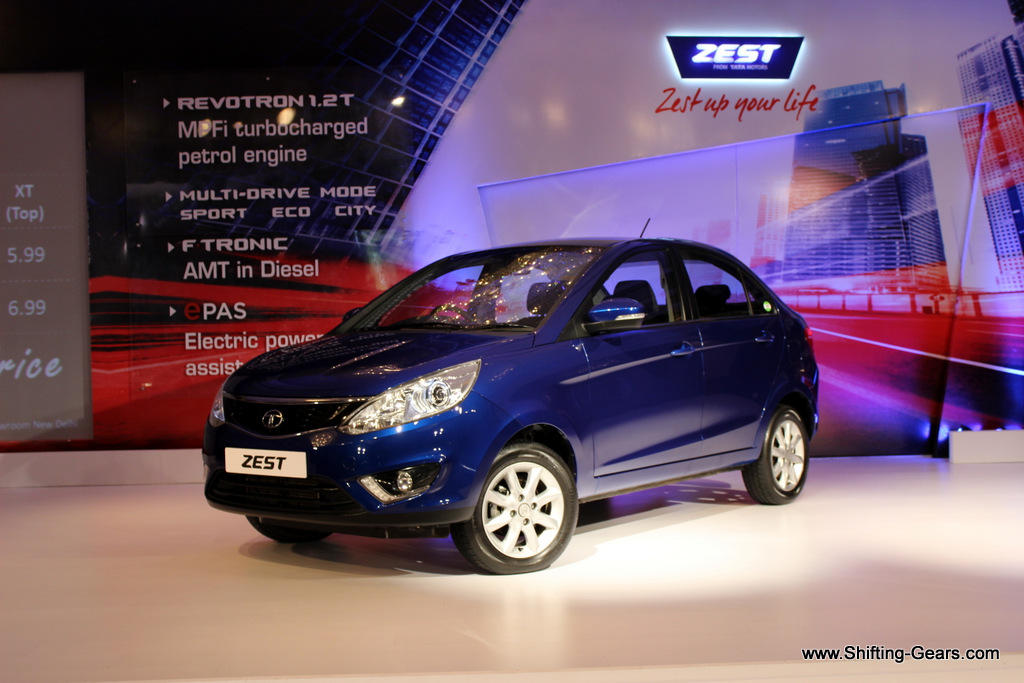 The Zest brings in a much more fresh and a much needed design change from the Tata Motors stable